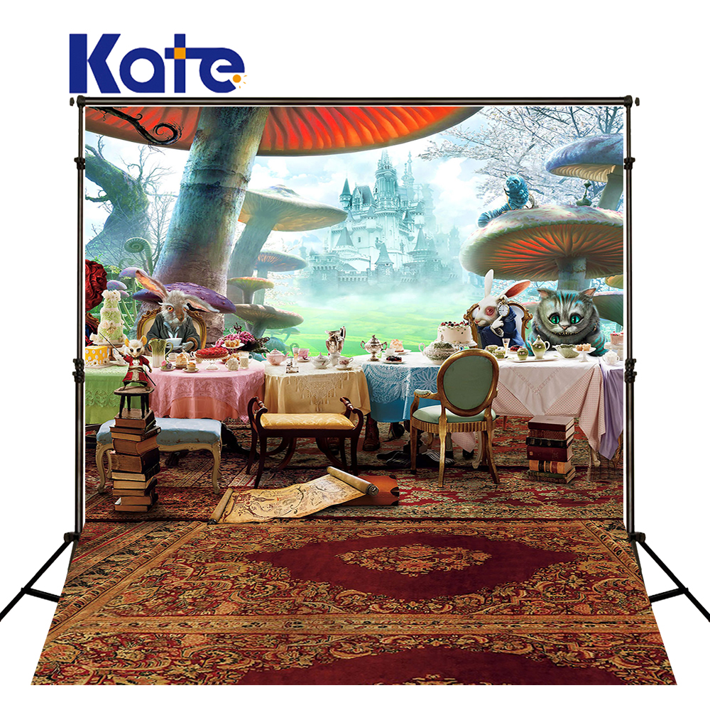 Kate 5*7ft Photograph Background Cartoon Backdrops  fundos fotograficos Forest Carpet Cat For A Photo Shoot<br>