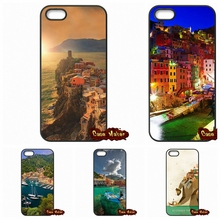 Most Beautiful Places Italy Cinque Terre Case Cover For Xiaomi Redmi 2 3 3S Note 2 3 Pro Mi2 Mi3 Mi4 Mi4i Mi4C Mi5 Mi MAX