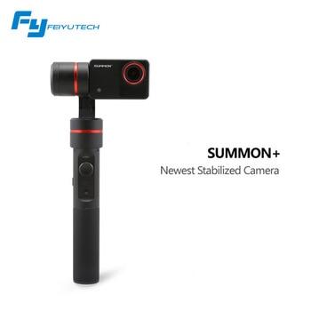 Feiyu FY-SUMMON + 3-осевой 4 К Интегрированной Камеры Ручной Устойчивый Бесщеточный Gimbal ВЫЗВАТЬ Плюс