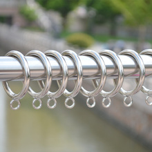 Free shipping metal curtain rings curtains accessories,25/28/38/45/55MM inside diameter, 4MM wire diameter