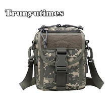 2017 New Durable Men Nylon Camouflage Shoulder Bags Messenger Bag For Army Fans Fashion Mountaineering Bag Travel Bag C3201