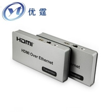 HDMI KVM Over TCP/IP  Extender 120m USB Twisted pair transceiver 1080P Can be connected gigabit switches the receiver output 200