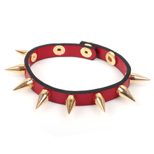 New Arrival Mental Conical spike Bracelet Adjustable Charming Snap Bracelet Fashion Women Accessories Best For Friend(China)