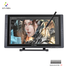 XP-Pen Artist22E FHD IPS Digital Graphics Drawing Monitor Pen Display Monitor with Shortcut keys and Adjustable Stand(China)