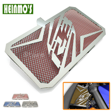 Red Motorcycle Accessories Stainless Steel Radiator Guard Cover Protector for Yamaha R3 2015 2016 2017 YZF-R3 ABS 2017(China)
