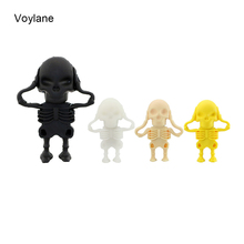100% real capacity New Arrival Fashion Creative Skull/death usb flash drives 8GB 16GB 32GB 64GB flash drive memory pen drive
