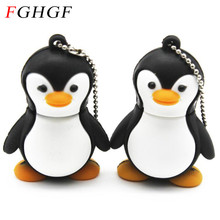 FGHGF lovely Penguin animal 4gb/8gb/16gb penguin cartoon Memory Stick pen drive avenger usb flash drive Free shipping(China)