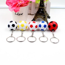 2016 purchase of new football model car key ring keychain car key ring gift toy collection Metal Model