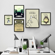 Cute Cartoon Role Print Nordic Decorative Poster No Frame Wall Drawing Canvas Art Mural Picture Pretty Children Bedroom Ornament