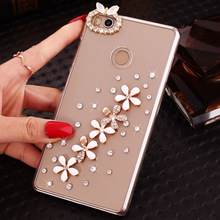 Diamond Cell Phone Case Shell For Zte Axon 7 nubia Z11mini For MOTO G5 For Xiaomi Hongmi Note4X Bling Crystal Smart Phone Case