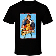 487ee5421d74 T Shirt Men Short Sleeve Funny Austin Powers Goldmember Cool 21st Century  Comedy Classic Movie Poster