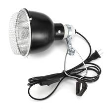500W E27 Base 145mm Pet Reptile Lamp Reflector Spotlight Light Bulb Lamp Shade Lamp Cover With 200cm Cable