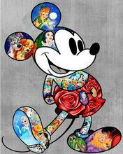 5D diamond embroidery cartoon picture diy diamond painting cross stitch crystal paste mosaic mouse christmas decorative(China)