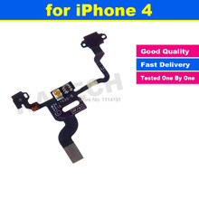 High Quality Power Button Flex Cable Ribbon Light Sensor Power Switch On / Off Replacement for iPhone 4 4G