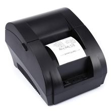 ZJiang 5890K Thermal Receipt Printer POS Printer USB Paper Roll Port 58mm Thermal Low Noise For Restaurant and Supermarket(China)