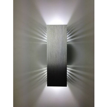 Wall Lamp High POWER Led Wall Lamp Light Up and Down Side Aluminum AC85-220V Y-5