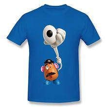 Nueva manga corta cuello redondo Camiseta Camisas moda 2017 hombres niño  Toy Story 3 Woody Buzz 9a85a14ed6dae