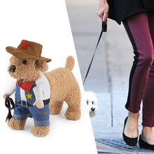 Hot Selling Pets Halloween Clothes Jeans Gentleman Stand Up Clothing Wholesael Price Dog Cat Cosplay Clothing High Quality