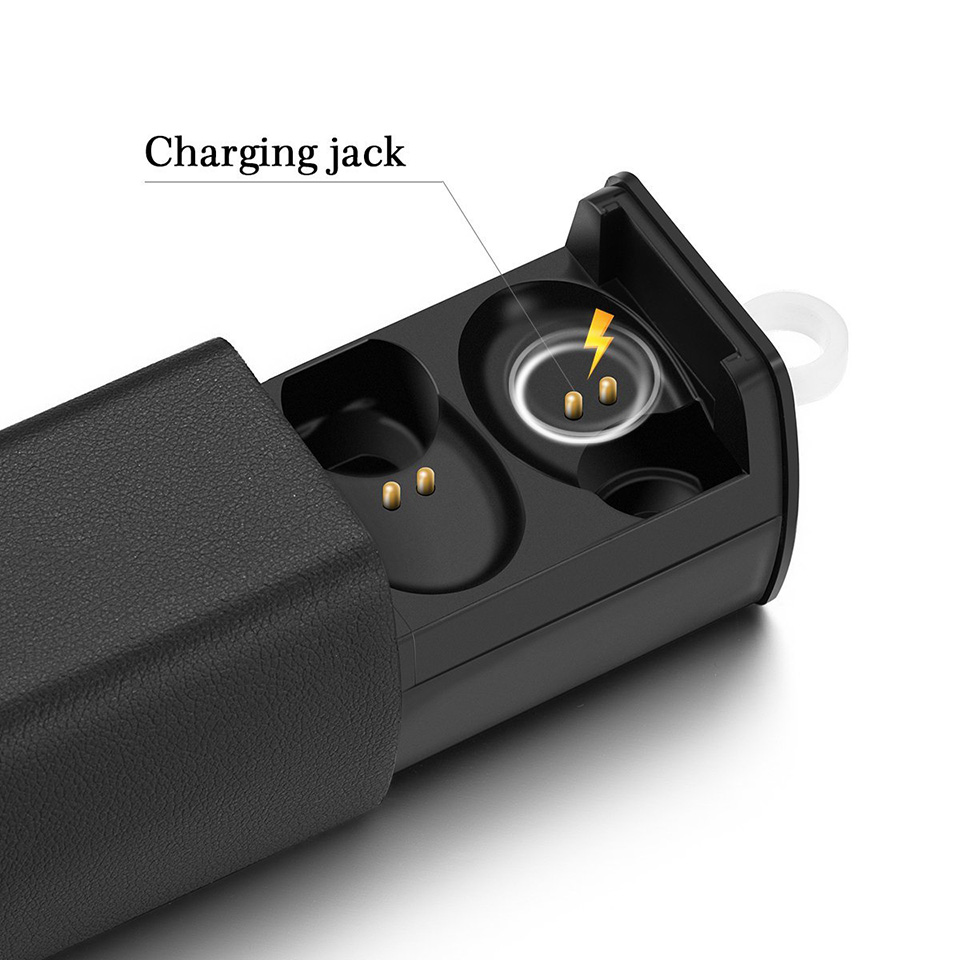 Vchicsoar i7 Really wireless Earphones TWS Bluetooth Earphone Stereo Mini Earbuds Headset with Mic Charge Box for iPhone Xiaomi
