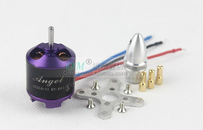 Sunnysky Angel series A2216 KV880 KV1250 brushless motor for RC aircraft fixed wing airplane spare parts <br><br>Aliexpress