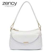 2017 Zency Famous Brand Genuine Leather Luxury Women Handbag Fashion Designer Ladies Shoulder Bag Tote Crossbody Messenger - Products Company Limited store