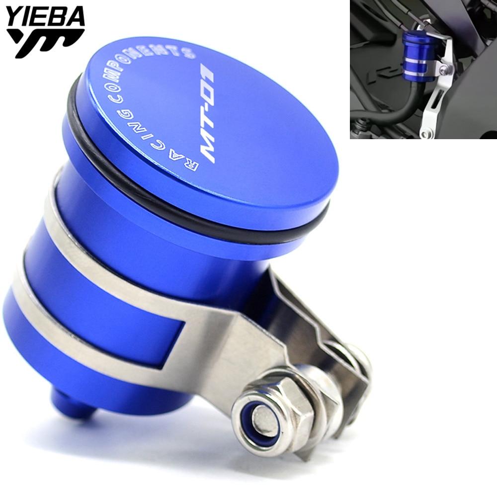 Universal Motorcycle Brake Fluid Reservoir Clutch Tank Oil Fluid Cup for YAMAHA MT01 MT-01 MT 01 MT-10 MT10 MT10 MT07 With LOGO