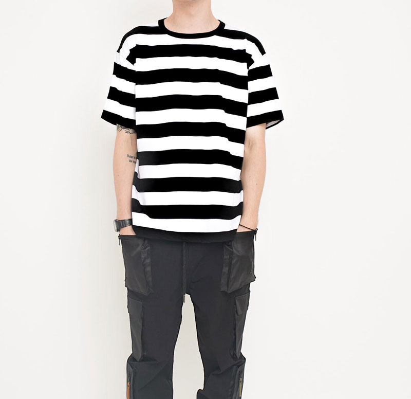 Casual Coon Striped Tshirts 5
