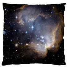 Nebula Galaxy Universe Outer Space Pillowcase Throw Pillow Case One Side with 5 Different Size