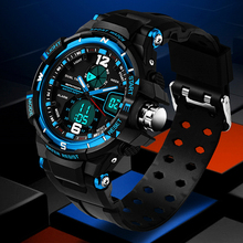 Relogios Masculino SANDA Watches men luxury brand Sport dive LED Military Digital watches mens Fashion Quartz watch Man relojes