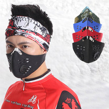world-wind#2030 high quality Activated Carbon Anti Dust Bicycle Motorcycle Racing Ski Half Face Mask  free shipping