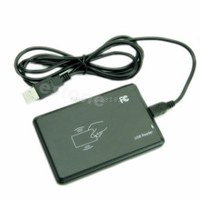 For USB RFID Contactless Proximity Sensor Smart ID Card Reader 125Khz EM4100 Window7 -R179 Drop Shipping