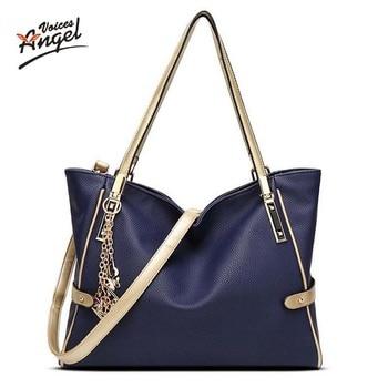 Best Sale 2017 new women bag Fashionable outward Practical internal women leather handbags Satchel bag portable large capacity