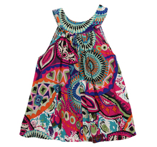 Girls NEW Dresses Toddler Baby Flower Brief Cotton Sleeveless Wedding Princess Clothes Vintage Party Kids Mini Girl Dress