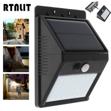 Buy Waterproof Outdoor 28 LED Solar Wall Light Motion Sensor Separable Light 3 Modes Security Night Lamp Garden Yard Fence for $14.66 in AliExpress store