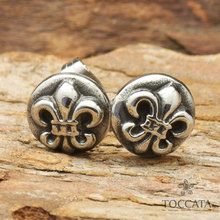 Fashion Vintage anchor stud earrings for women and men stainless steel jewelry statement(China)