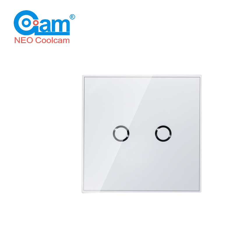 Smart Home Z-wave Wall Light Switch Home Automation Z Wave Wireless Smart Remote Control Light Touch Switch<br>