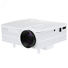 2016 Genuine Shelves Soon Full HD Home Theater Cinema H80 LCD Image System 80 Lumens Mini LED Projector with AV/VGA/SD/USB/HDMI