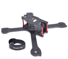 Newest iX5 210 210mm carbon Fiber Frame drone Kit + Red Motor Cover for 22 Series 2204 2205 for Iflight 200 FPV racing drone