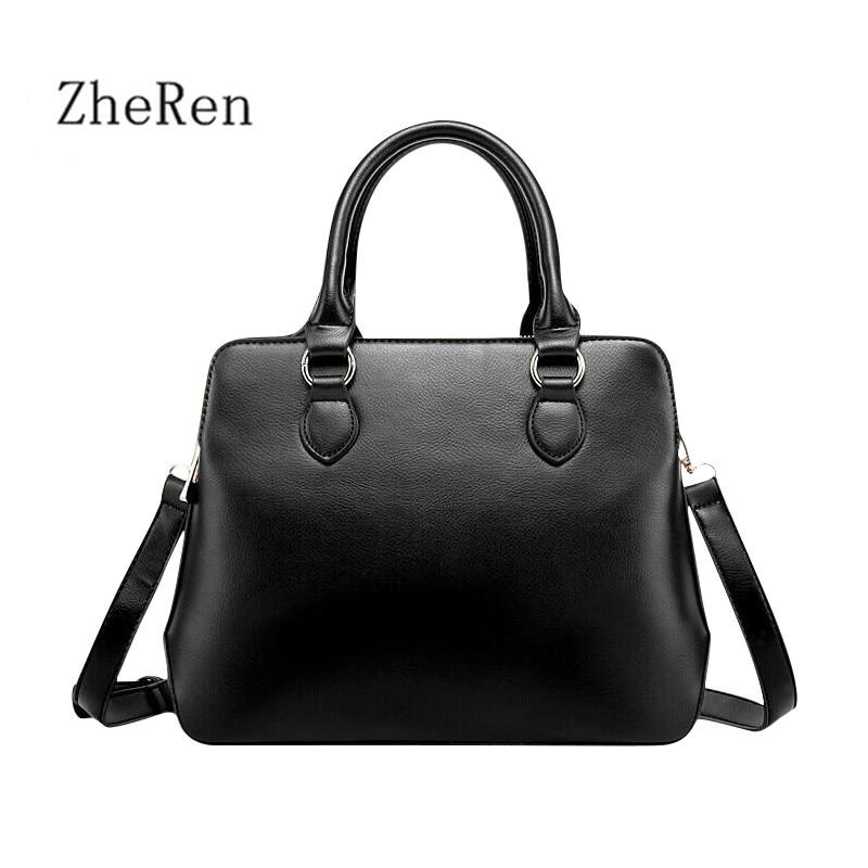 Hot Sale three-tier design of PU Leather Handbags Women High Capacity of Leather Handbags totes simple Fashion handbags of Luxur<br><br>Aliexpress
