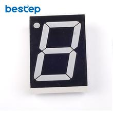 "10PCS 1Bit Digital Tube 7 segment 1.8"" inch Red LED Display Common Anode Free Shipping(China)"