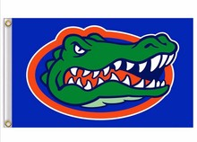 University of Florida Gators NCAA Flag hot sell goods 3X5FT 150X90CM Banner brass metal holes(China)