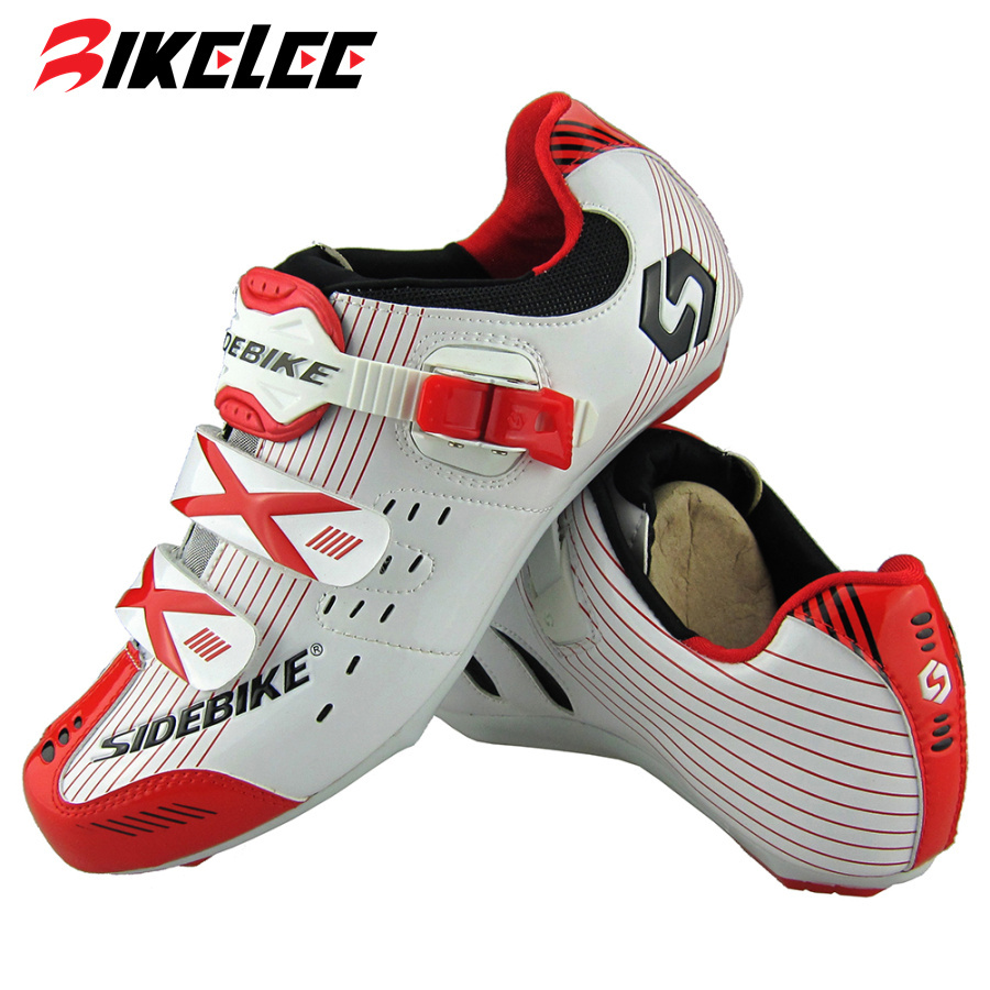 2017 Rroad Bike Shoes Sidebike Cycling Bicycle Shoes Mens Breathable Bike Bicycle Athletic Shoes Red/Yellow/White/Blue Sneaker<br><br>Aliexpress