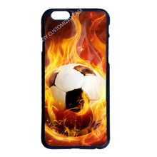 Afire Football Case Cover for LG G3 G4 Samsung S3 S4 S5 Mini S6 S7 Edge Plus Note 2 3 4 5 iPhone 4 4S 5S 5C 6 6S 7 Plus iPod 5 6