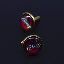 Factory Retail NBA American basketball Man Shirt Cufflinks for Party cuff-link