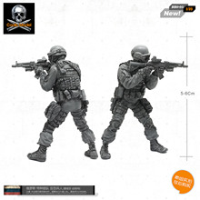 1/35 Russian soldiers special forces anti-terrorism troops [prime mold super fine] BBO-05(China)