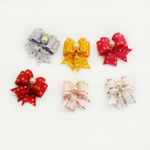 Armi store Handmade Hair Bows 6022012 Dog Show Supplies Rubber Bands  Pet Bow