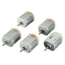 DIY Brand 5 pcs DC 3V Mini Motor for Remote Control Toy Car Robot(China)