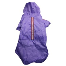 1 Piece Waterproof Dog Raincoat Jacket Hooded Pet Dog Coat Clothing Dog Rain wear Cloths