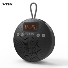 VTIN 5W Bluetooth Speaker IPX5 Waterproof Outdoor Hands-free Calls Speaker w/ FM Radio Alarm Clock High Stereo Music for Phones(China)