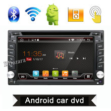 Quad Core Universal 2 din Android 6.0 Car DVD player GPS+Wifi+Bluetooth+Radio+2G CPU+DDR3+Capacitive Touch Screen+3G+car pc(China)